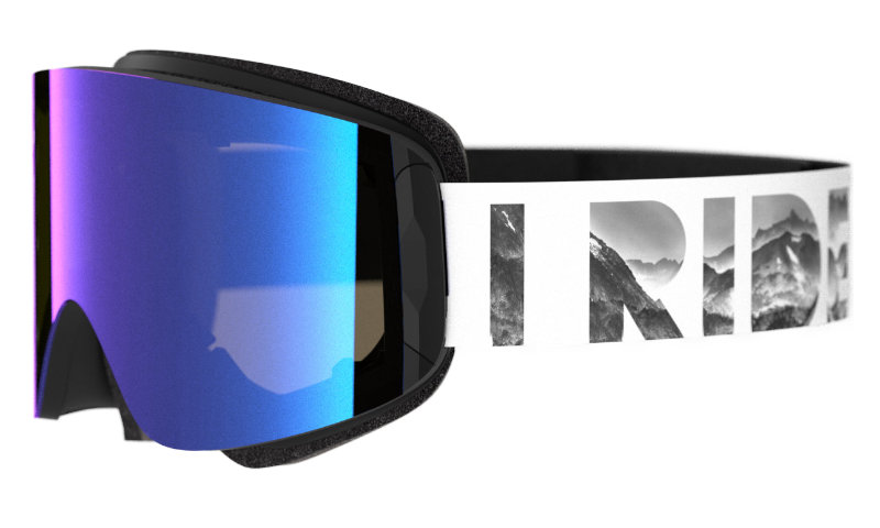 Out Of ski goggle Katana with a special made specifically for the