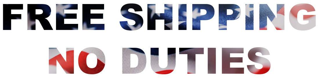 Usa free image no duties free shipping