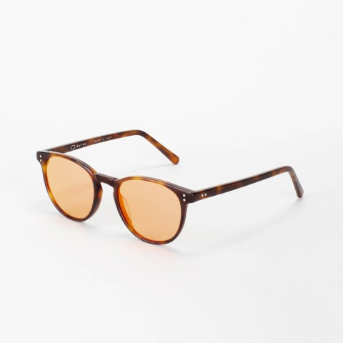 Handmade Riva Turtle with Red Light mirror lens