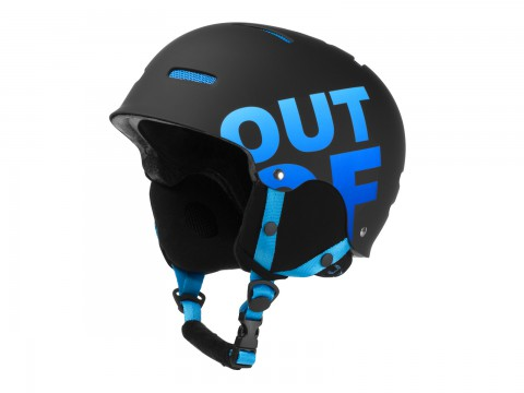 WIPEOUT BLACK BLUE HELMET