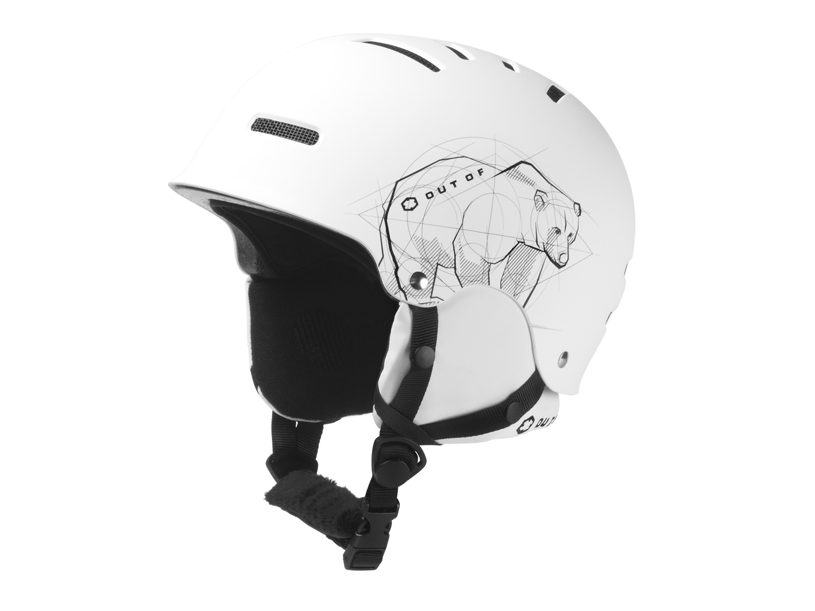 WIPEOUT BEAR HELMET