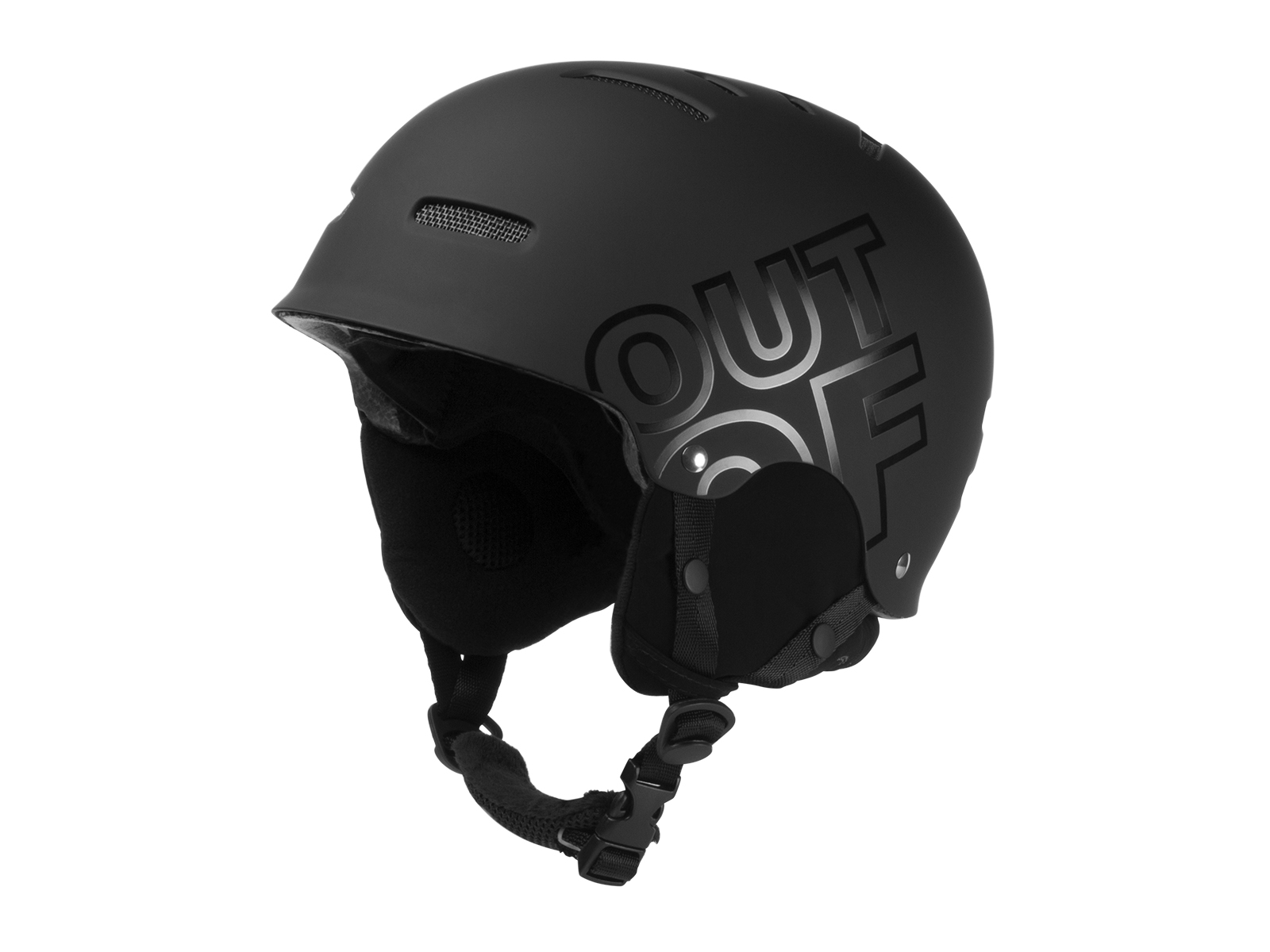 WIPEOUT BLACK HELMET