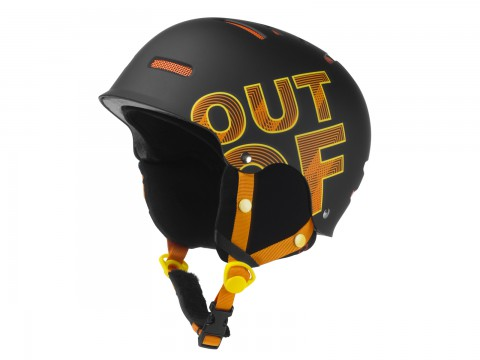WIPEOUT BLACK RED HELMET