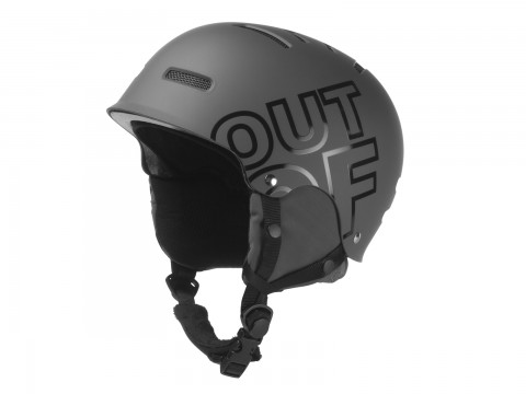 WIPEOUT GREY HELMET