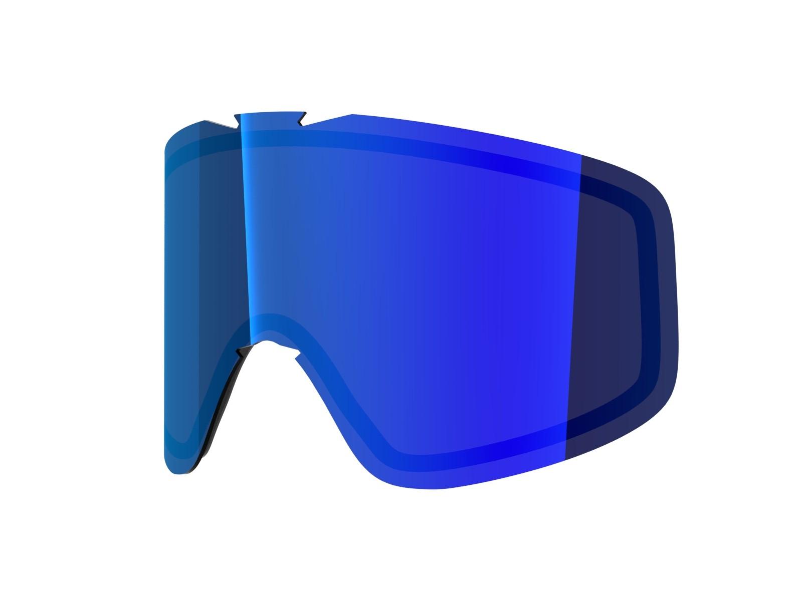 Blue mci lens for Lente per Flat goggle