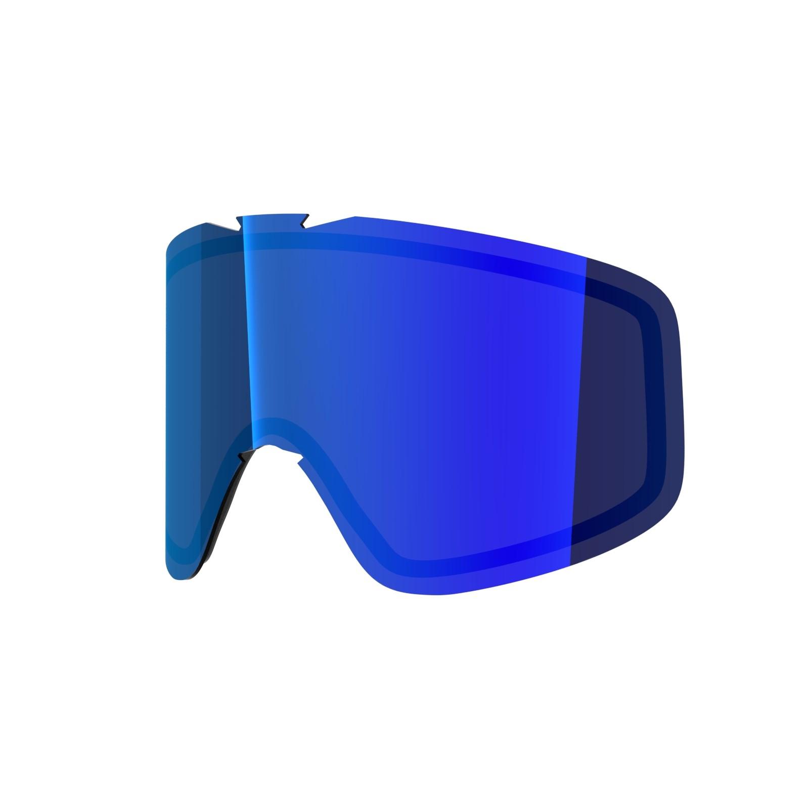 BLUE MCI lens for  Flat goggle