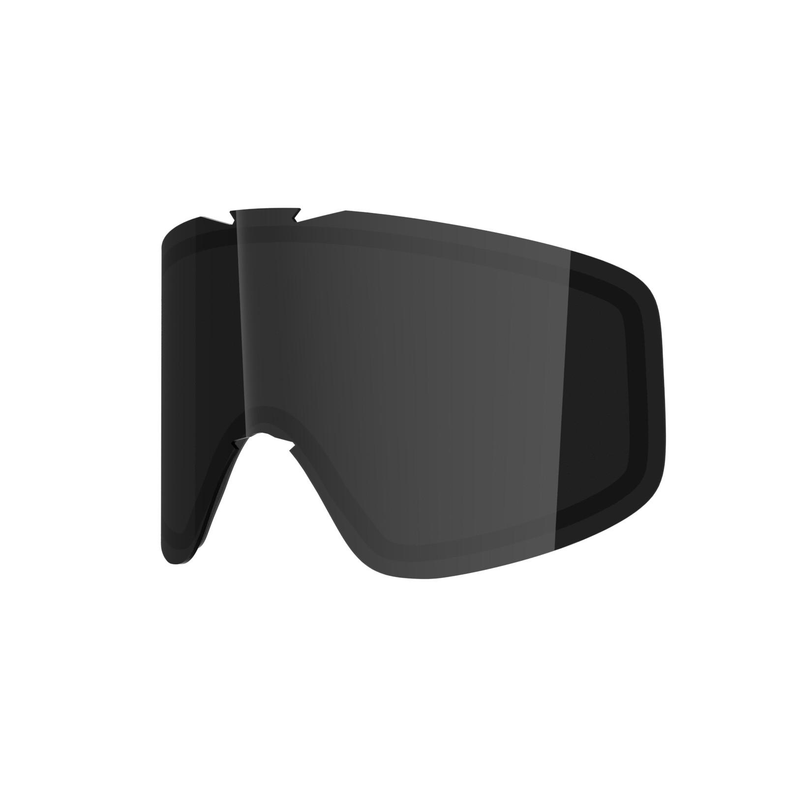 SMOKE lens for  Flat goggle