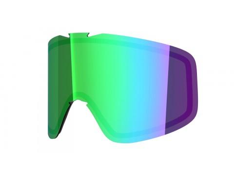 Green mci lens for Lente per Flat goggle