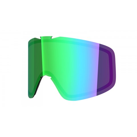 GREEN MCI lens for  Flat goggle
