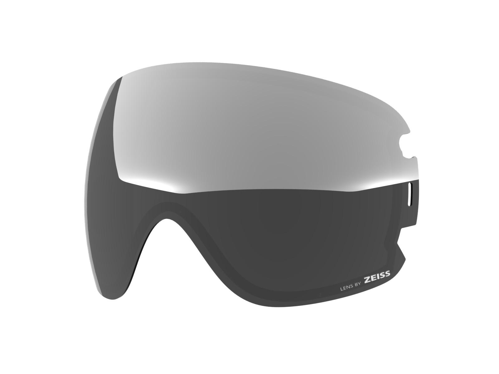 Silver lens for Lente per Open xl goggle