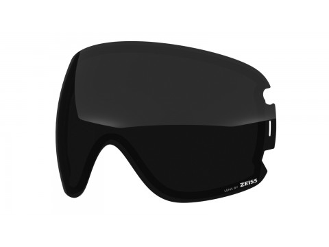 Dark smoke lens for Lente per Open xl goggle