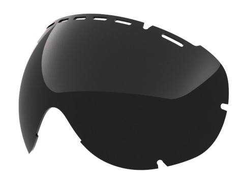 SMOKE LENS FOR EYES SNOW GOGGLE