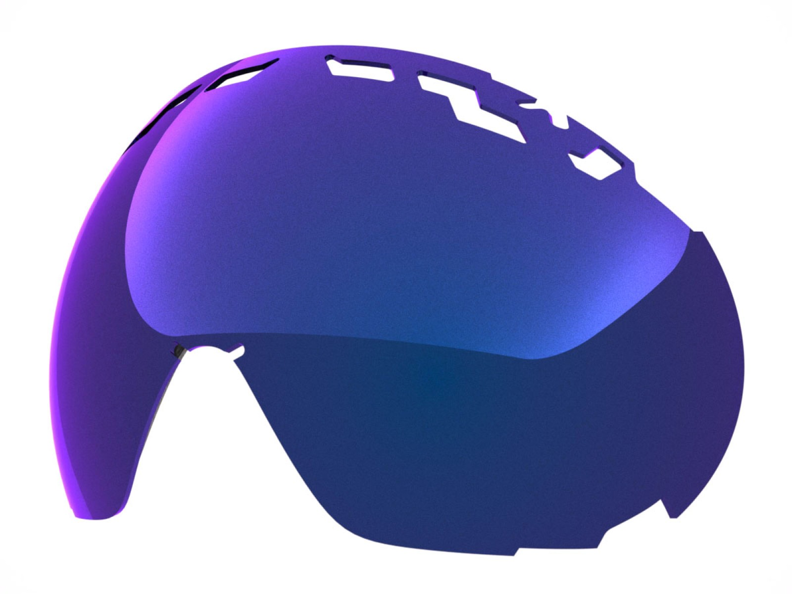 BLUE MCI LENS FOR EDGE SNOW GOGGLE