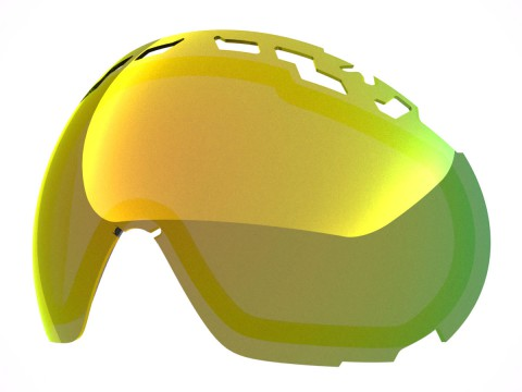 GOLD MCI LENS FOR EDGE GOGGLE
