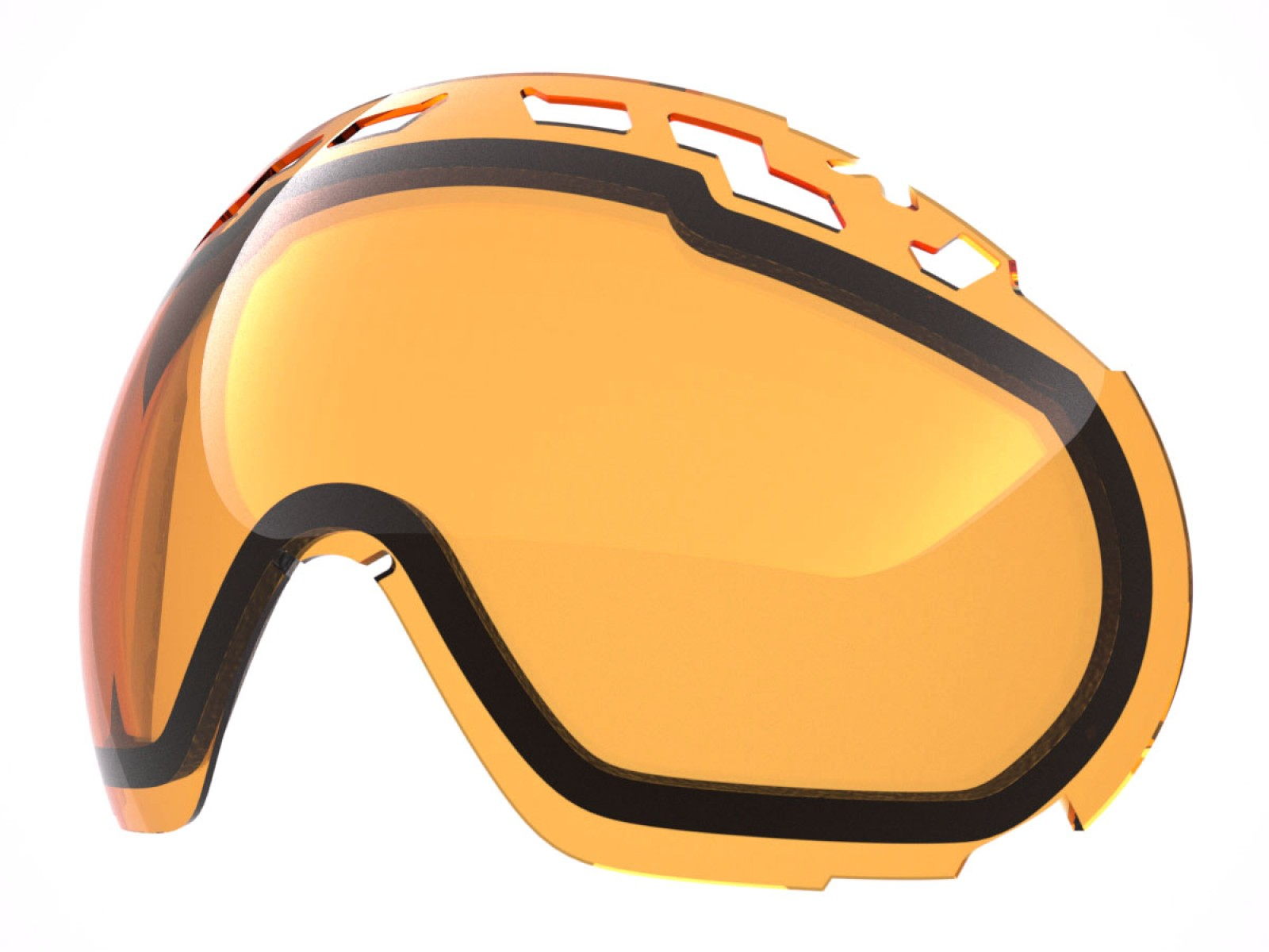 PERSIMMON LENS FOR EDGE SNOW GOGGLE