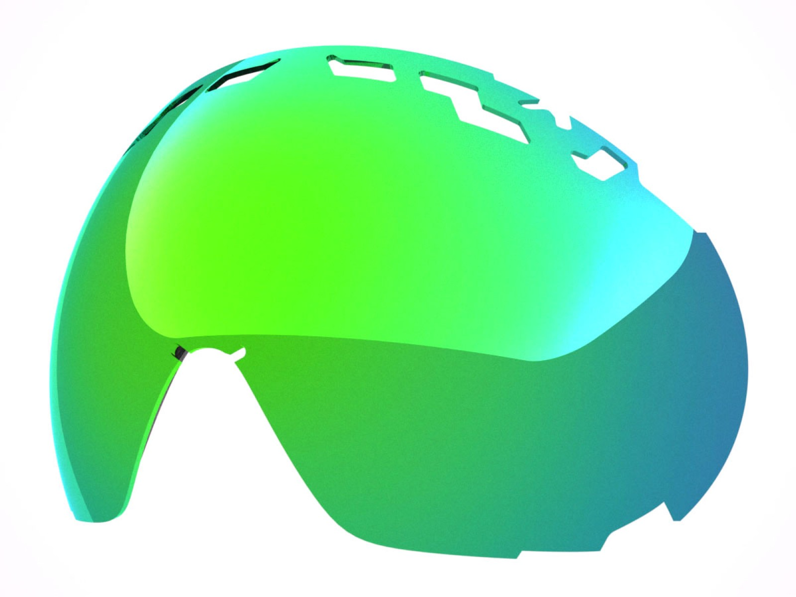 GREEN MCI LENS FOR EDGE SNOW GOGGLE