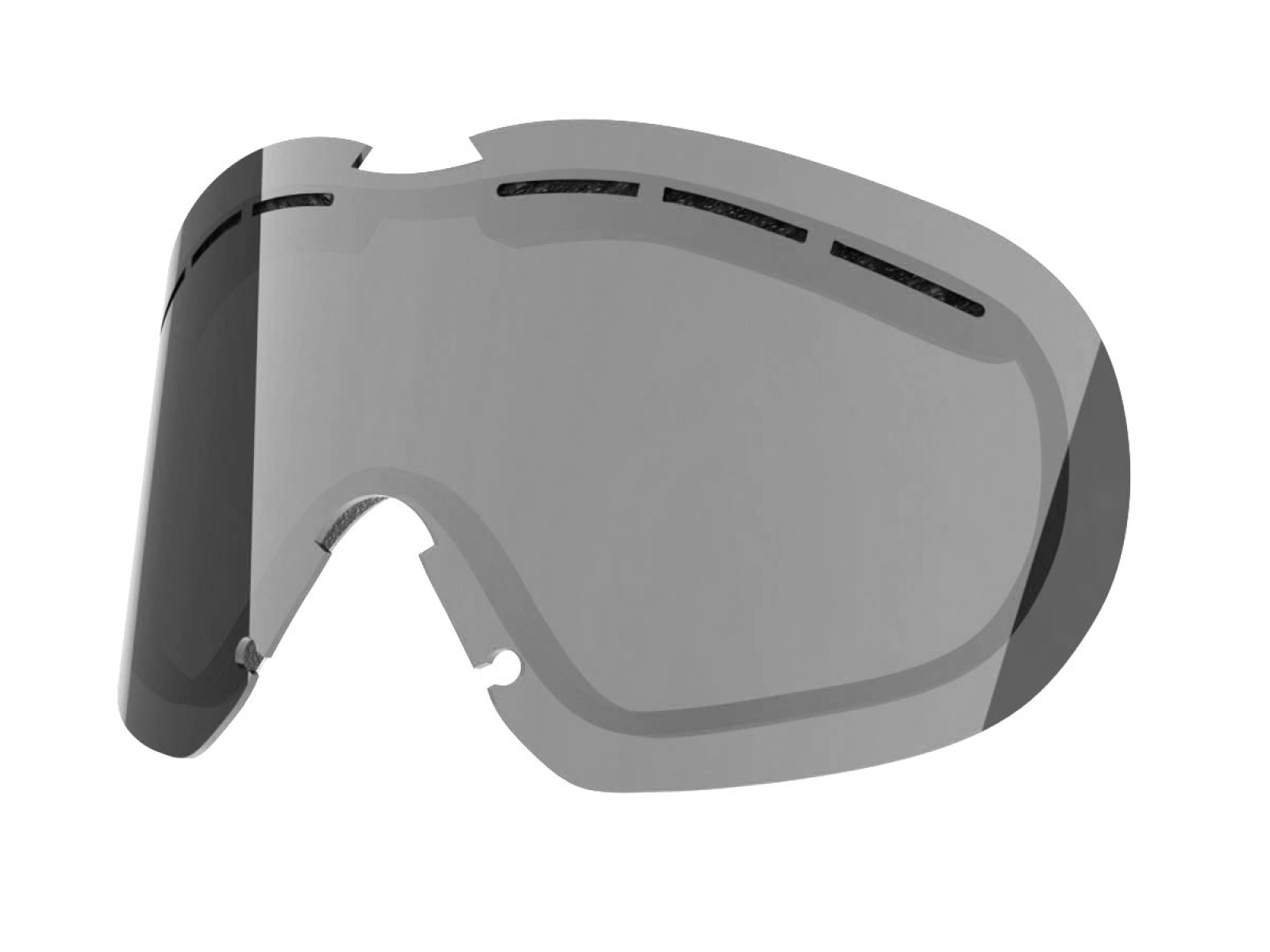 SILVER LENS FOR FLAT SNOW GOGGLE