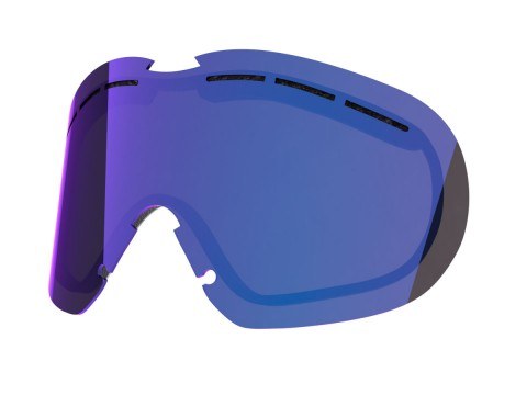 BLUE MCI LENS FOR FLAT SNOW GOGGLE