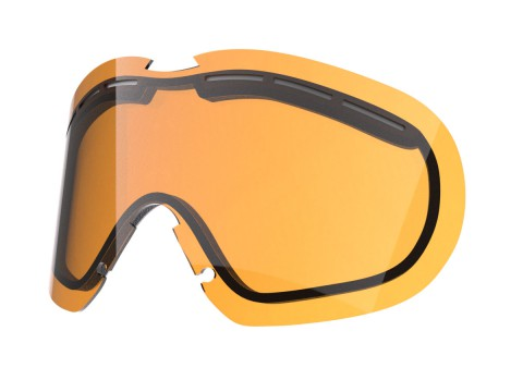 PERSIMMON LENS FOR FLAT SNOW GOGGLE