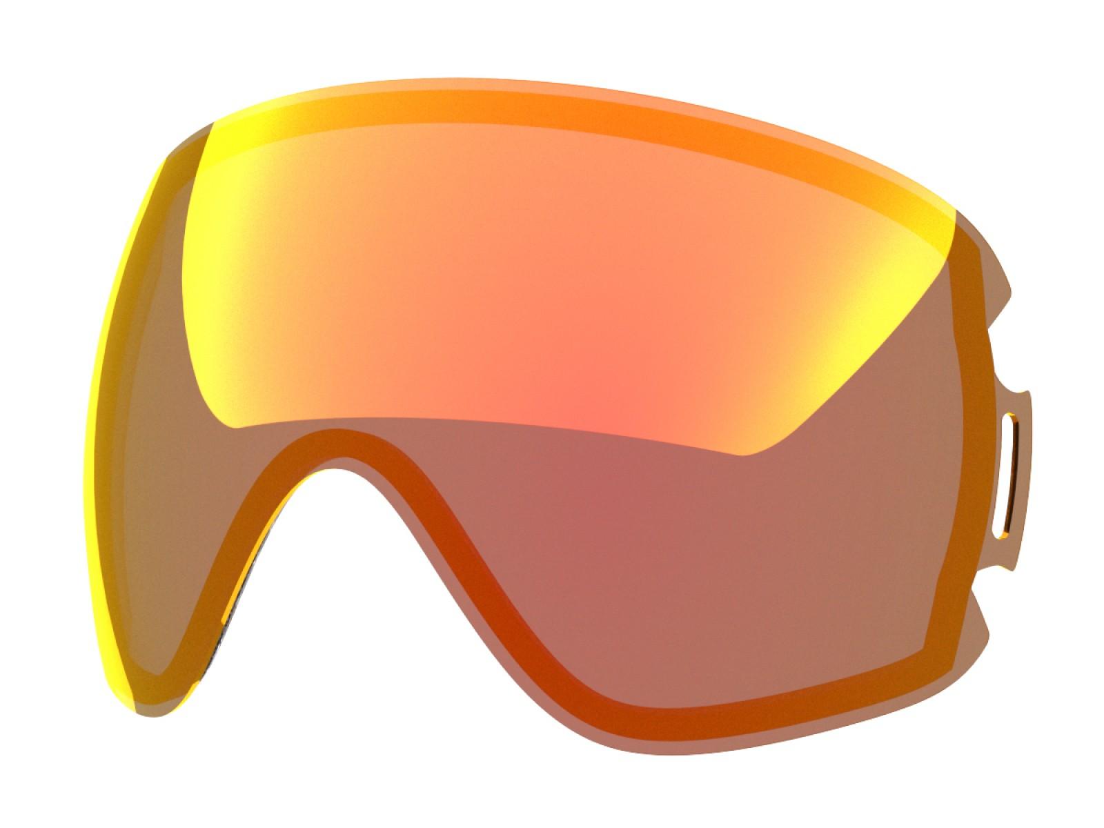 Red mci lens for Lente per Open goggle