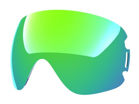 Green mci lens for Lente per Open goggle