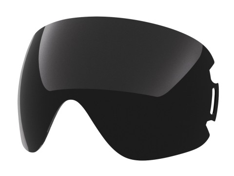 Dark smoke lens for Lente per Open goggle