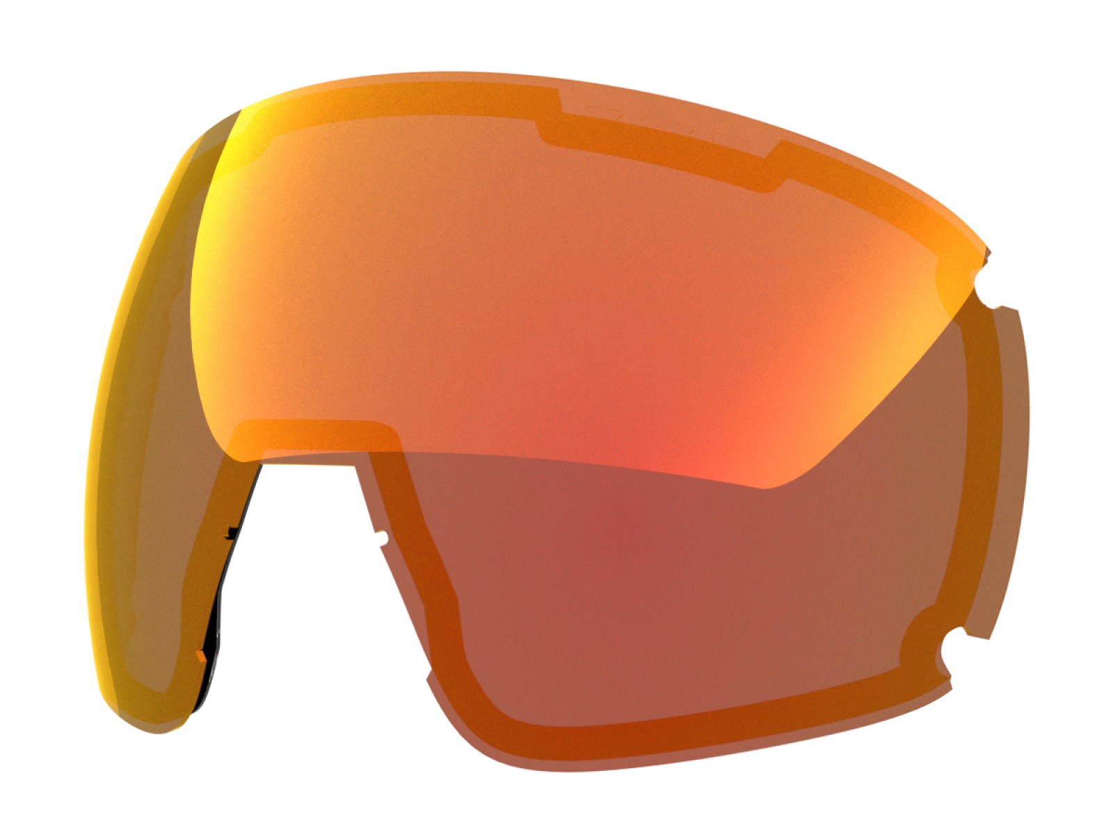 RED MCI LENS FOR EARTH SNOW GOGGLE