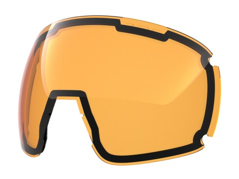 Persimmon lens for Lente per Earth goggle