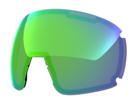 Green mci lens for Lente per Earth goggle