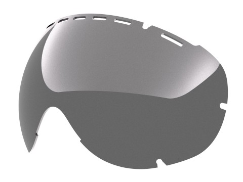 SILVER LENS FOR EYES SNOW GOGGLE