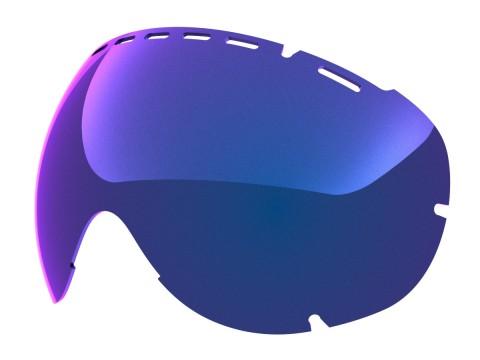 Blue mci lens for Lente per Eyes goggle