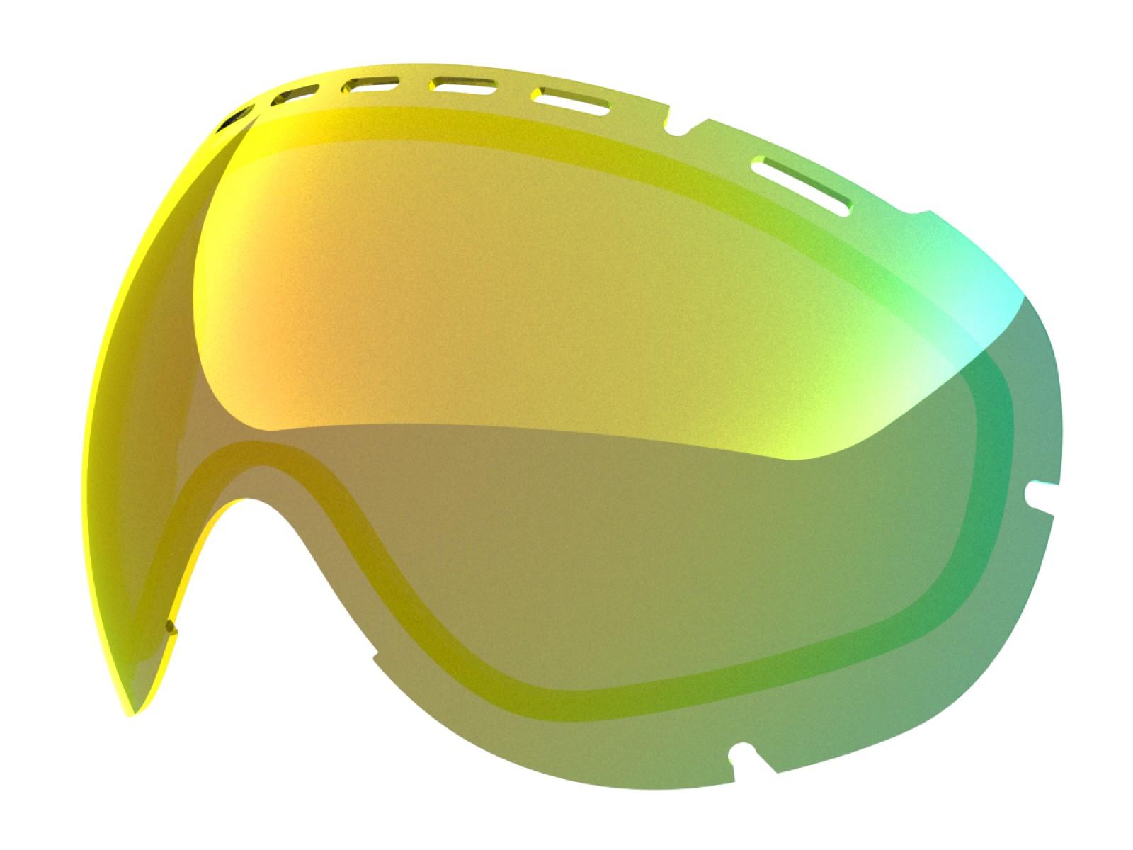 Gold mci lens for Lente per Eyes goggle