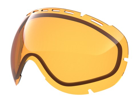 Persimmon lens for Lente per Eyes goggle