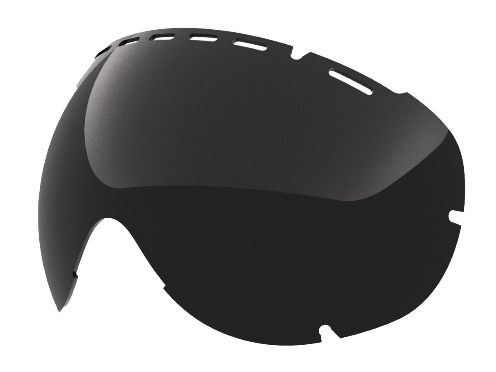 Smoke lens for Lente per Eyes goggle