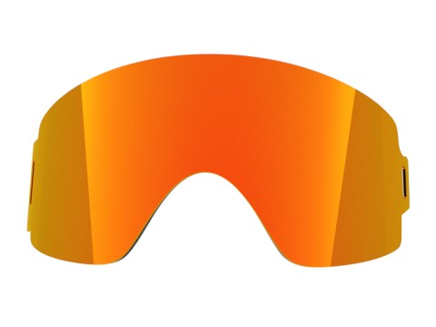 Red mci lens for Lente per Shift goggle