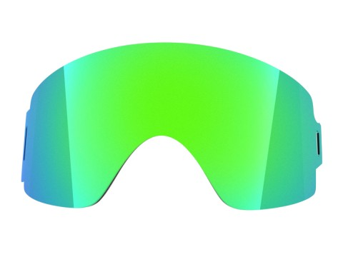 Green mci lens for Lente per Shift goggle