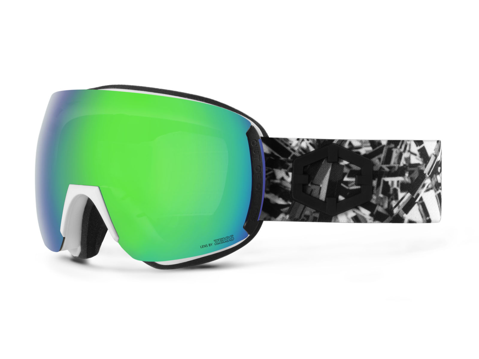 EARTH MATRIX GREEN MCI GOGGLE