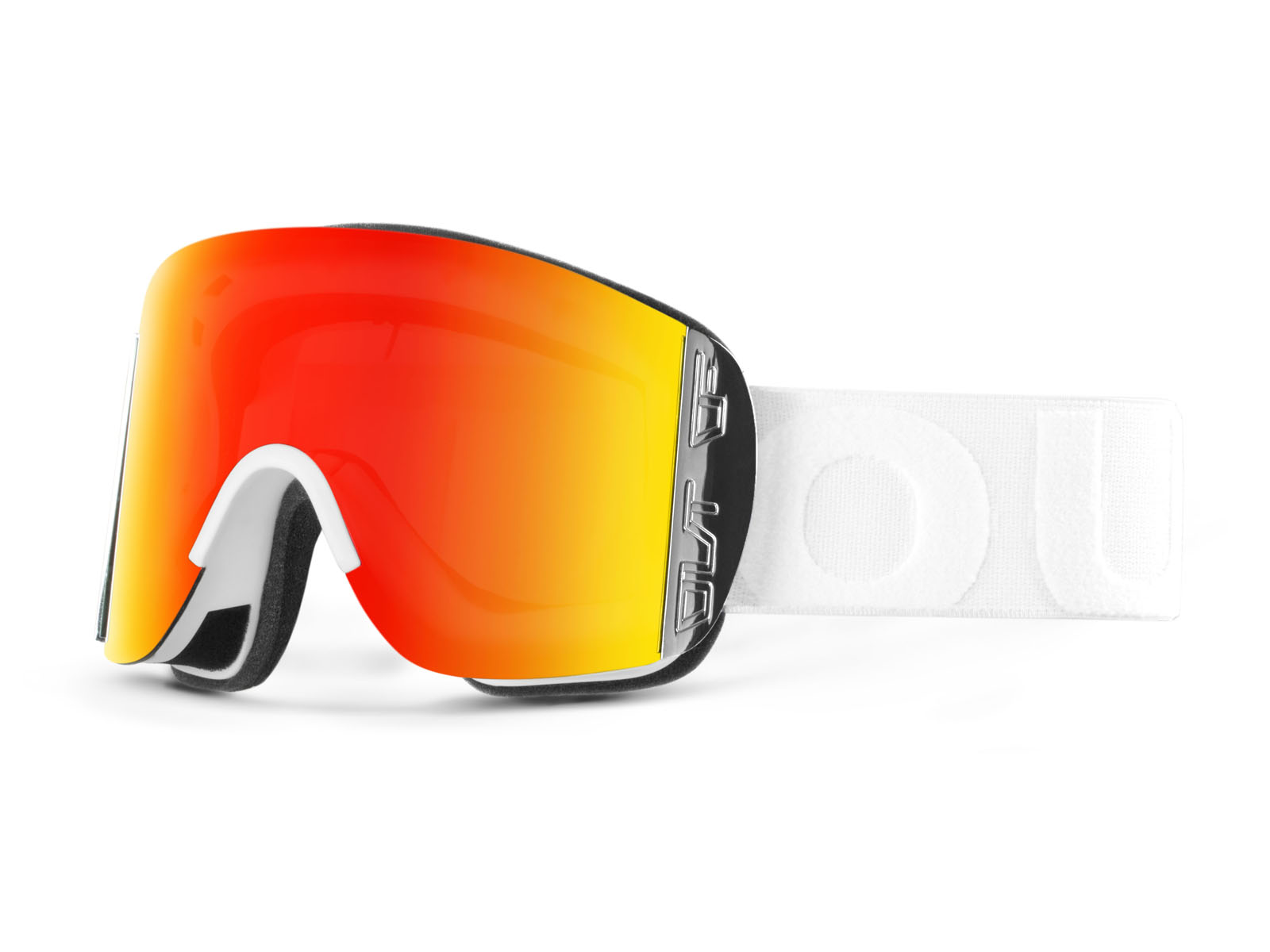 DOC WHITE RED MCI GOGGLE