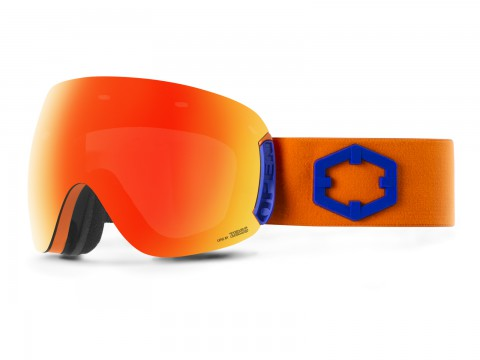 OPEN BLUE ORANGE RED MCI GOGGLE