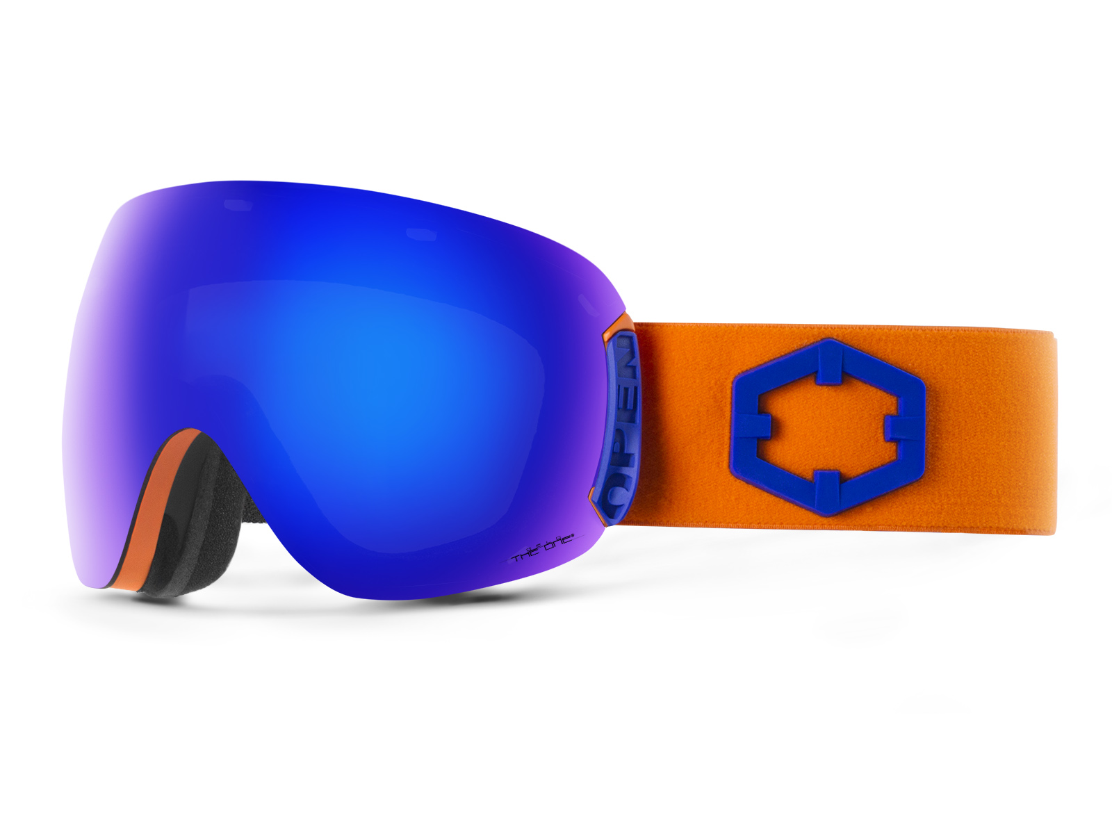 OPEN BLUE ORANGE THE ONE GELO GOGGLE