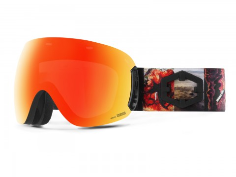 OPEN PROGRESS RED MCI GOGGLE