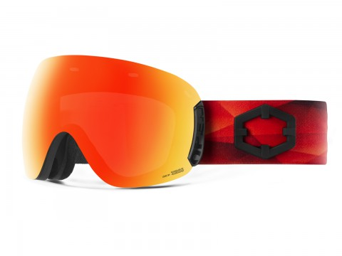 OPEN TRIANGLE RED MCI GOGGLE