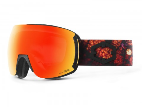 EARTH LEAF RED MCI GOGGLE