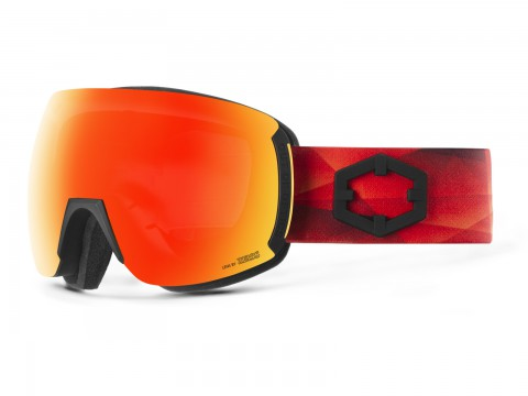 EARTH TRIANGLE RED MCI GOGGLE