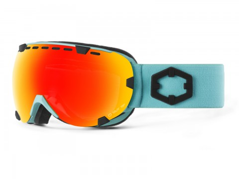 EYES TURQUOISE RED MCI GOGGLE