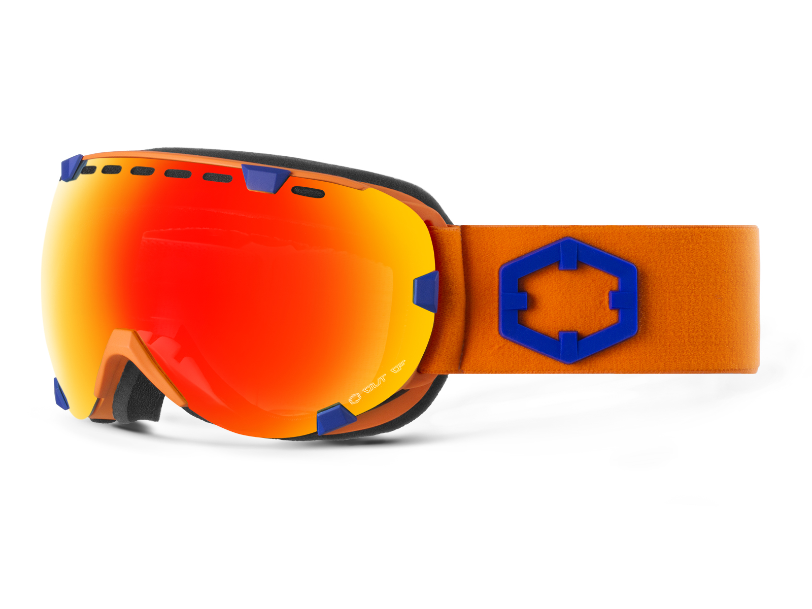 EYES BLUE ORANGE RED MCI GOGGLE