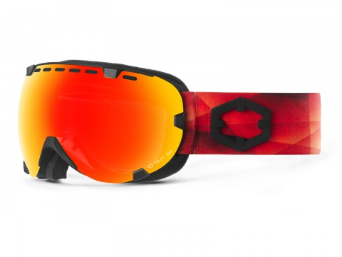 EYES TRIANGLE RED MCI GOGGLE
