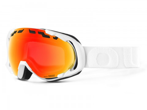 EDGE WHITE RED MCI GOGGLE
