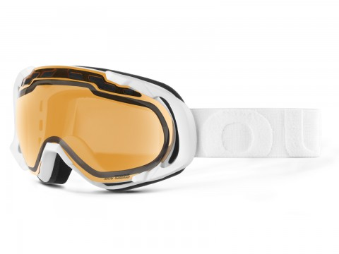 EDGE WHITE PERSIMMON GOGGLE