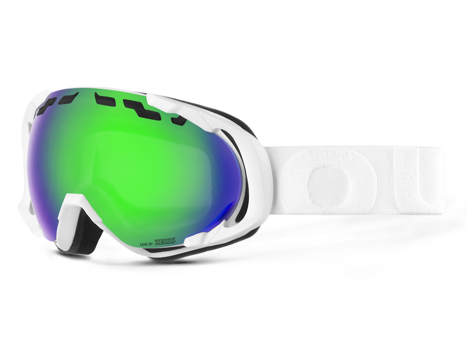 EDGE WHITE GREEN MCI GOGGLE